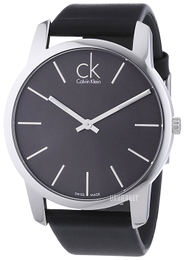 Calvin Klein City Sort/Læder Ø43 mm K2G21107
