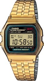 Casio Casio Collection Gul guldtonet stål 36.8x33.2 mm A159WGEA-1EF