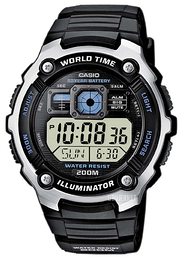 Casio Casio Collection LCD/Resinplast 52.2x47.7 mm AE-2000W-1AVEF