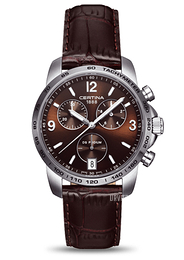 Certina DS Podium Chrono Brun/Læder Ø40 mm C001.417.16.297.00
