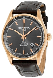 Certina DS 1 Automatic Grå/Læder Ø39 mm C006.407.36.081.00