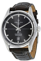 Certina DS 1 Grå/Læder Ø40 mm C029.408.16.081.00