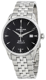 Certina DS 1 Sort/Stål Ø40 mm C029.807.11.051.00