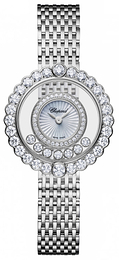 Chopard Happy Diamonds Icons Hvid/18 karat hvidguld Ø30.3 mm 204180-1201