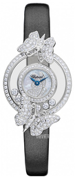 Chopard Happy Diamonds Icons Hvid/Satin Ø25.8 mm 204444-1001