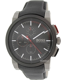 Hugo Boss Chronograph Sort/Læder Ø45.5 mm 1512979