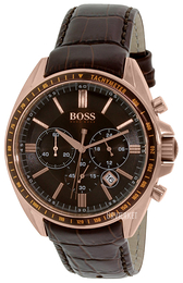 Hugo Boss Driver Brun/Læder Ø43 mm 1513093