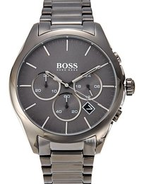 Hugo Boss Onyx Grå/Stål Ø47 mm 1513364