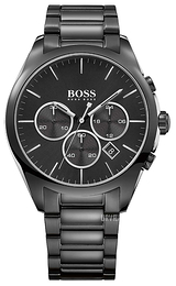 Hugo Boss Onyx Sort/Stål Ø44 mm 1513365