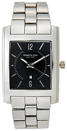 Kenneth Cole Sort/Stål 10031326