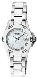 Longines Conquest Ladies Keramik Ø29.5 mm L3.299.0.87.7