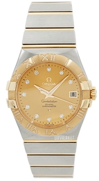 Omega Constellation Co-Axial 35mm Guldfarvet/18 karat guld Ø35 mm 123.25.35.20.58.002