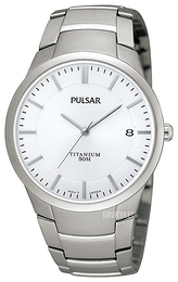 Pulsar Dress Sølvfarvet/Titanium Ø37 mm PS9009X1