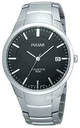 Pulsar Dress Sort/Titanium Ø36 mm PS9013X1