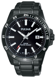 Pulsar Sport Sort/Stål Ø43 mm PS9461X1