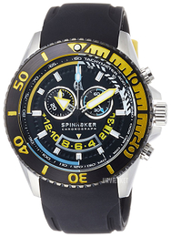 Spinnaker Amalfi Sort/Gummi Ø46 mm SP-5021-07