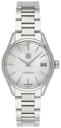 TAG Heuer Carrera Lady Quartz Hvid/Stål Ø32 mm WAR1311.BA0778