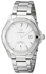 TAG Heuer Aquaracer Sølvfarvet/Stål Ø40.5 mm WAY2111.BA0928