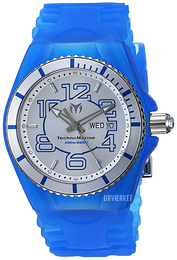 Technomarine Cruise Jellyfish Sølvfarvet/Gummi Ø44 mm TM-115140