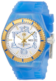Technomarine Cruise Jellyfish Hvid/Gummi Ø44 mm TM-115143