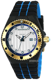 Technomarine Cruise Locker Sølvfarvet/Gummi Ø45 mm TM-115220