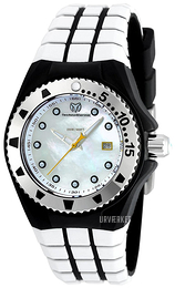 Technomarine Cruise Locker Sølvfarvet/Gummi Ø34 mm TM-115221