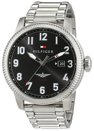 Tommy Hilfiger Jasper Sort/Stål Ø46 mm 1791312