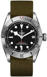 Tudor Black Bay Steel Sort/Tekstil Ø41 mm 79730-0004