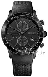Hugo Boss Rafale Sort/Læder Ø44 mm 1513456