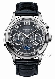 Patek Philippe Grand Complications Grå/Læder Ø42 mm 5208P
