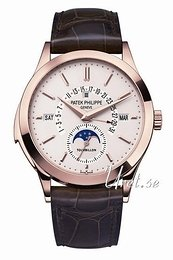 Patek Philippe Grand Complications Sølvfarvet/Læder Ø39.5 mm 5216R