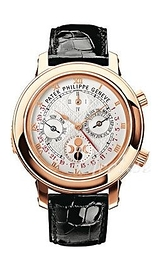 Patek Philippe Grand Complications Sky Moon Tourbillon Hvid/Læder Ø42.8 mm 5002R/001