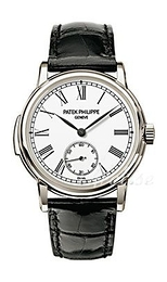 Patek Philippe Grand Complications Hvid/Læder Ø38 mm 5078P/001