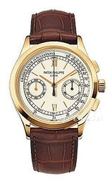 Patek Philippe Complicated Sølvfarvet/Læder Ø39 mm 5170J/001