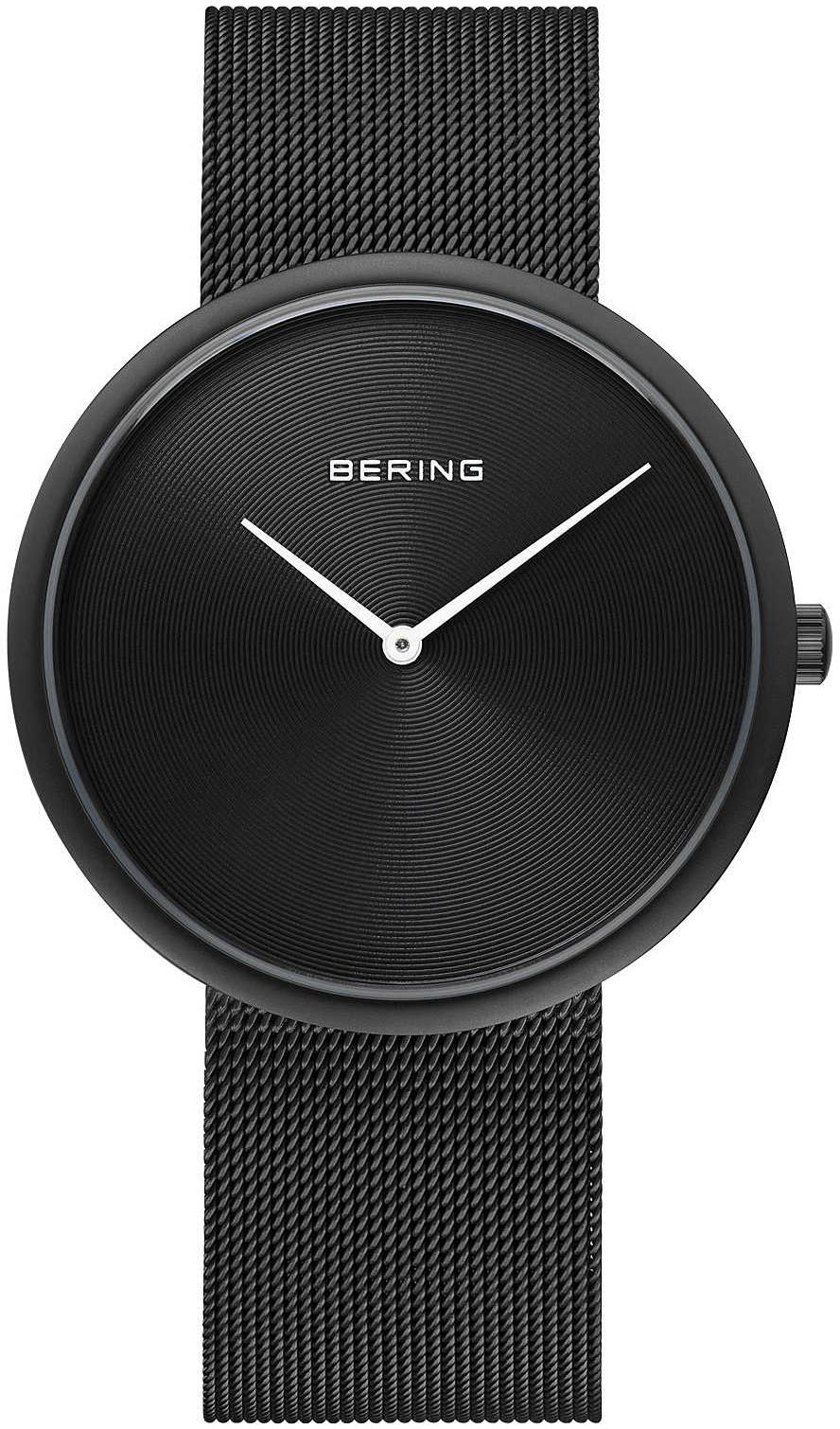 Bering Classic Herreur 14339-222 Sort/Stål Ø39 mm