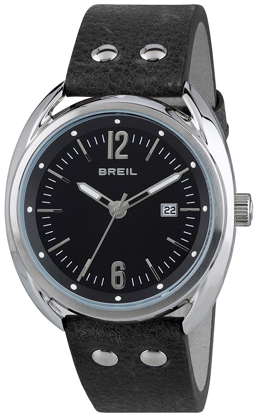 Breil 99999 Herreur TW1669 Sort/Læder Ø42 mm