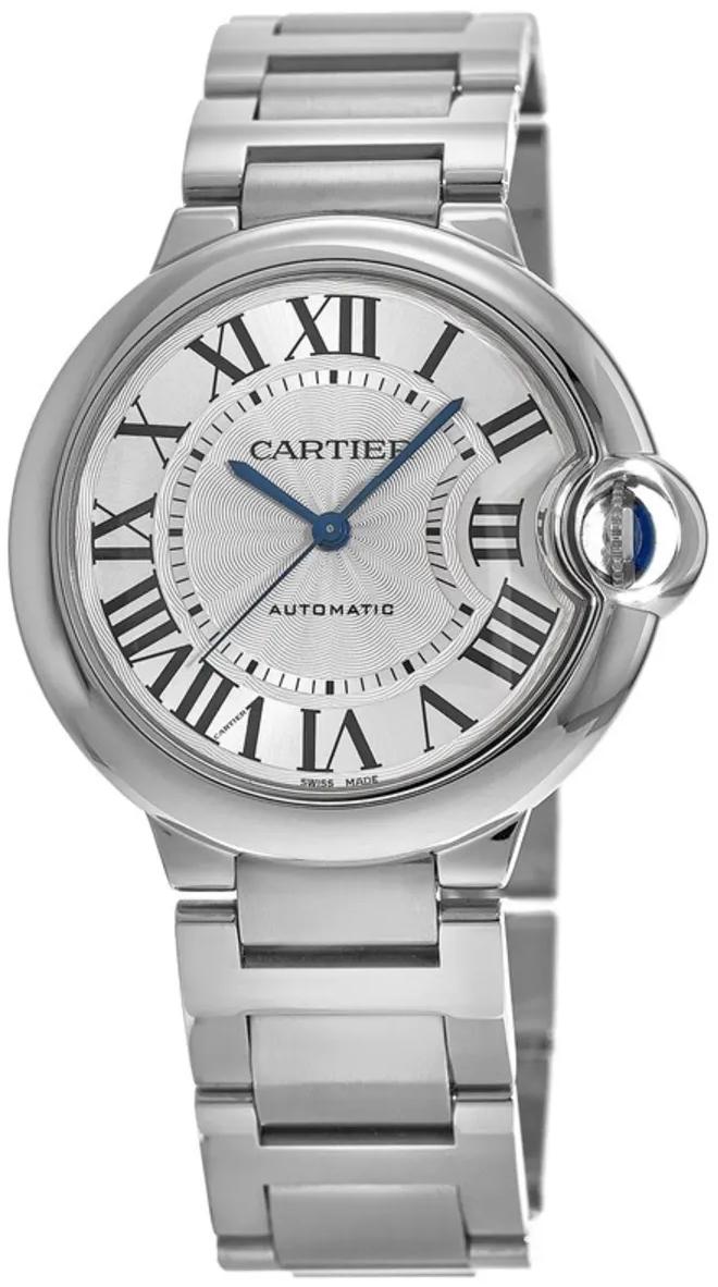 Cartier Ballon Bleu De Cartier Dameur WSBB0044 Sølvfarvet/Stål Ø33