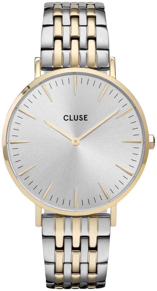 Cluse La Boheme Dameur CW0101201025 Sølvfarvet/Gul guldtonet stål