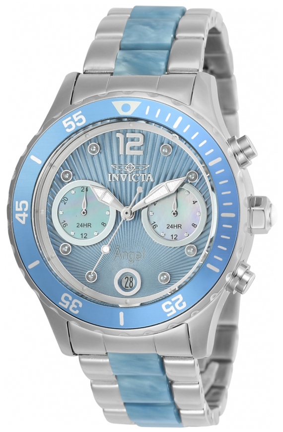 Invicta Angel Dameur 24704 Blå/Resinplast Ø40 mm