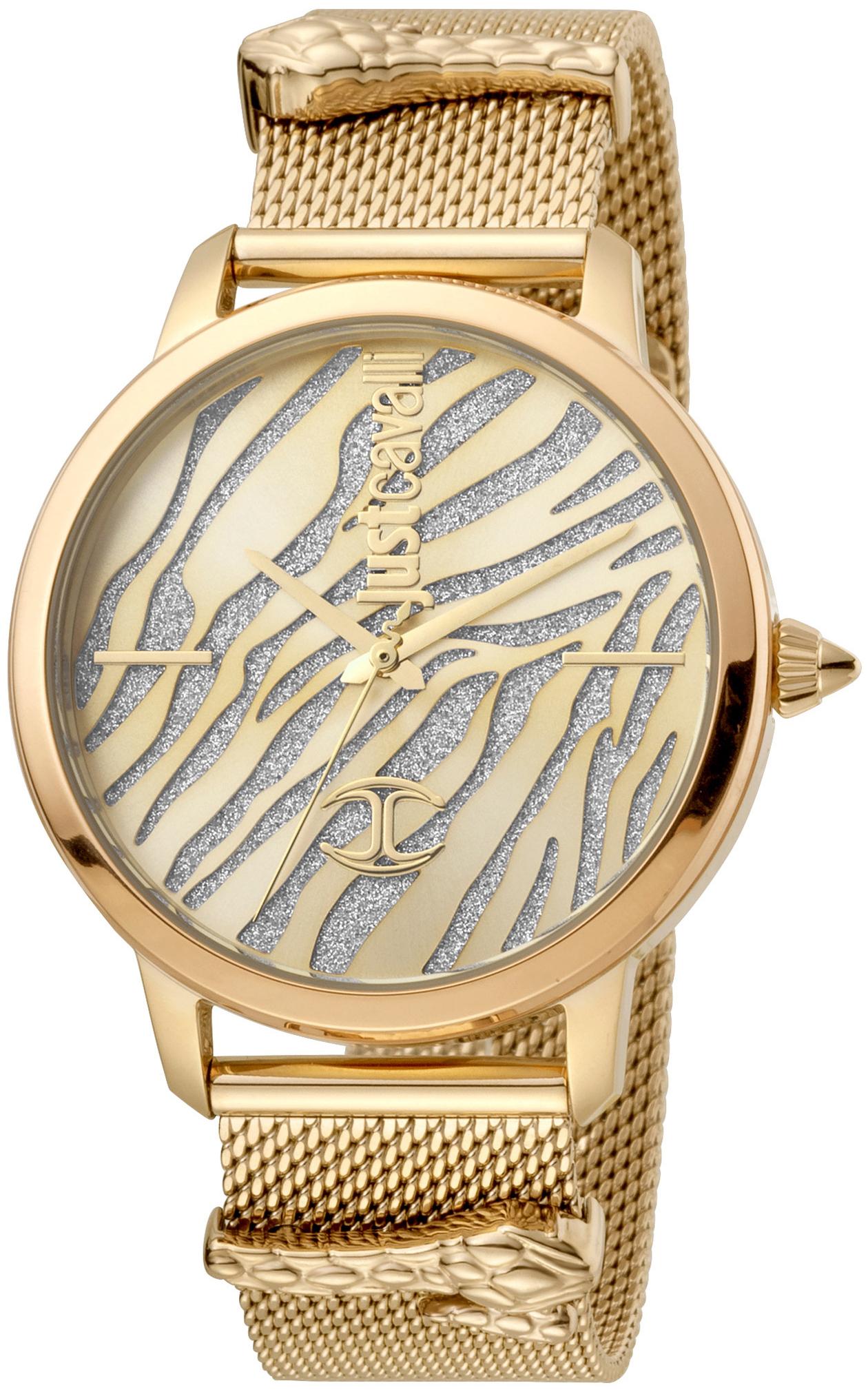 Just Cavalli 99999 Dameur JC1L127M0055 Flerfarvet/Gul guldtonet stål
