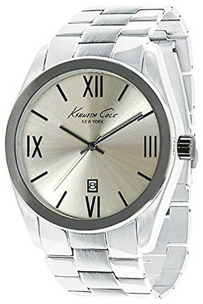 Kenneth Cole Herreur KCW3048 Sølvfarvet/Stål Ø46 mm