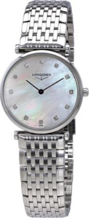 Longines Grande Classique Dameur L4.512.4.87.6 Stål Ø29 mm