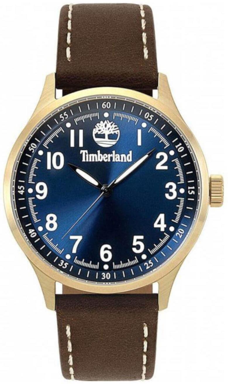 Timberland 99999 Herreur TBL15353JSK.03 Blå/Læder Ø44 mm