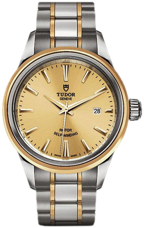 Tudor Style Dameur 12103-0001 Guldfarvet/Gul guldtonet stål Ø28 mm