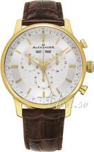 Alexander Statesman Sølvfarvet/Læder
