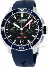Alpina Seastrong Sort/Læder Ø44 mm
