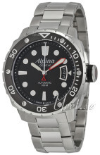 Alpina Seastrong Sort/Stål Ø44 mm