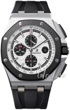 Audemars Piguet Royal Oak Offshore Sølvfarvet/Gummi Ø44 mm