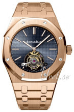 Audemars Piguet Royal Oak Blå/18 karat rosa guld Ø41 mm