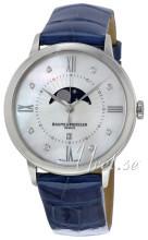 Baume & Mercier Classima Hvid/Læder